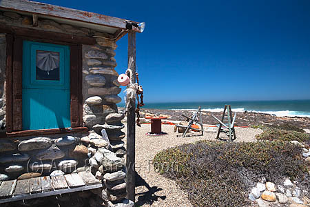AT216 Noup Divers' hut, Namaqualand  diamond coast