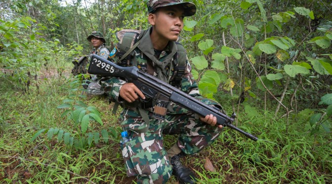 Thailand's 'blood wood' war – the untold story