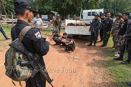 RCS55 Siam rosewood poachers caught by anti-poaching patrol