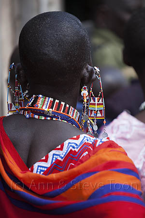 ACP22 Traditional Maasai beadwork on show at the Predator Compen