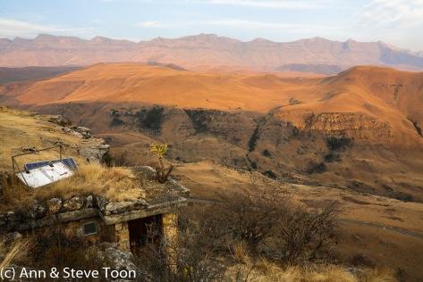 Giant's Castle vulture hide