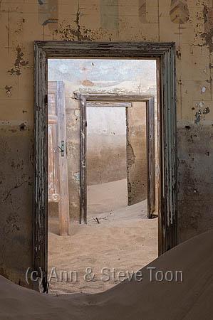 Interior detail, Kolmanskop ghost town