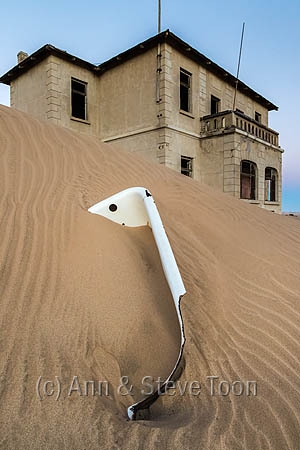 Architect's house, Kolmanskop ghost town