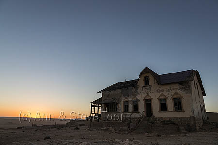 Book-keeper's house, Kolmanskop ghost town