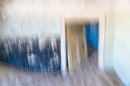 Interior detail abstract, Kolmanskop ghost town